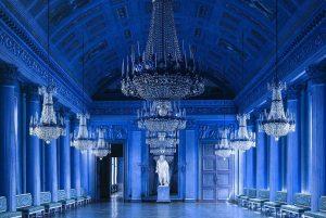 un altro interno del castello di Compiègne
