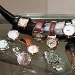 Gli orologi: Rolex, Cartier, Franck Muller.