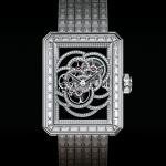 Chanel Première Camelia Scheletrato, edizione limitata a 12 pezzi in oro tempestati di diamanti e animati da calibro meccanico a carica manuale realizzato in-house (460mila euro).