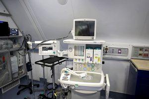 SALA PER I CONTROLLI AMBULATORIALI È lo spazio di primo confronto medico-paziente, dove avvengono i controlli di base e viene fatto uno screening  delle patologie dei singoli soggetti.