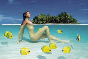altra bellezza, altro atollo delle Maldive ritratti dall'obiettivo di Paolo Curto.