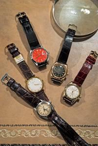 Una vera passione, quella per gli orologi: soprattutto Rolex Ovetto, ma anche Cartier.