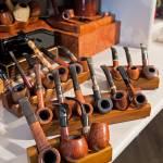 Parte della collezione di pipe, prevalentemente Castello e Dunhill: uno dei tabacchi preferiti è il Morning di Dunhill.