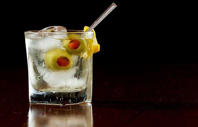 martini-on-rocks