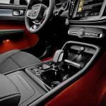 L'interior design dell'XC40, che unisce estetica e funzionalità, grazie a una serie di vani che ottimizzano gli spazi.