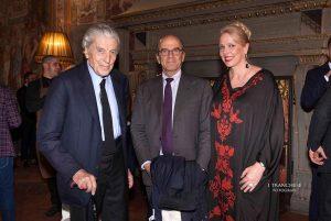 Nino Cerruti, Raffaello Napoleone e Cris Egger.