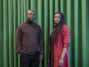 Sir David Adjaye, mentor in architettura, con la  sua protégée Mariam Kamara. ©Rolex/Tina Ruisinger