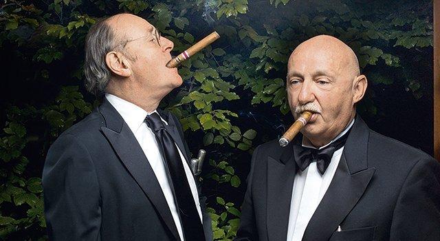 Paul de Sury con Valerio Cornale.