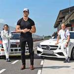 David Gandy scende in pista con Martini