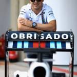 Martini cambia logo per celebrare il ritiro di  Felipe Massa