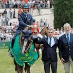 Rolex scandisce il tempo a Piazza di Siena